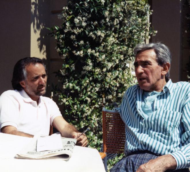 Athos Faccincani e Walter Chiari
