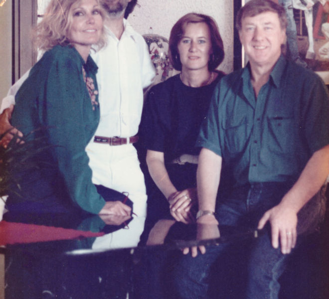 Kim Novak, il marito, Athos e Rita Faccicnani