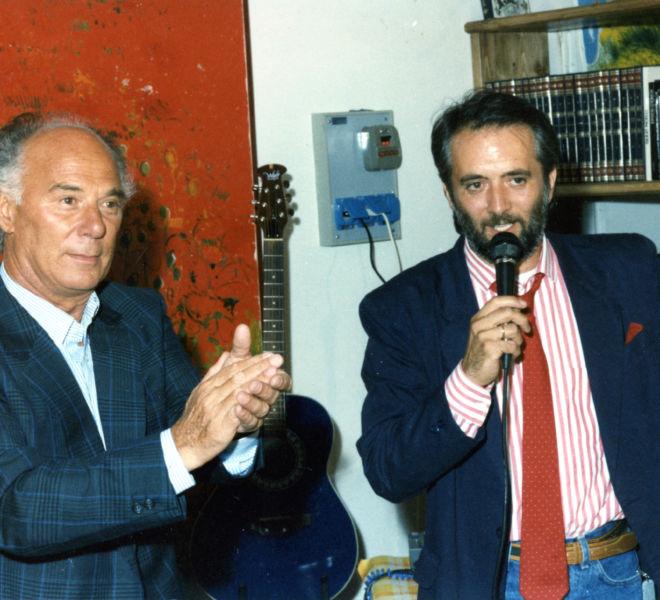 Nantas Salvalaggio e Athos Faccincani