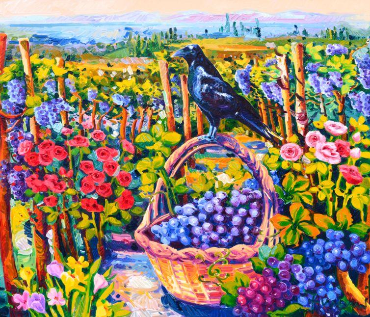 Il corvo e il suo racconto
