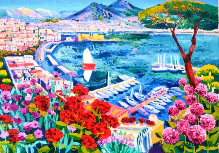 La barca rossa e un sogno intorno a Napoli