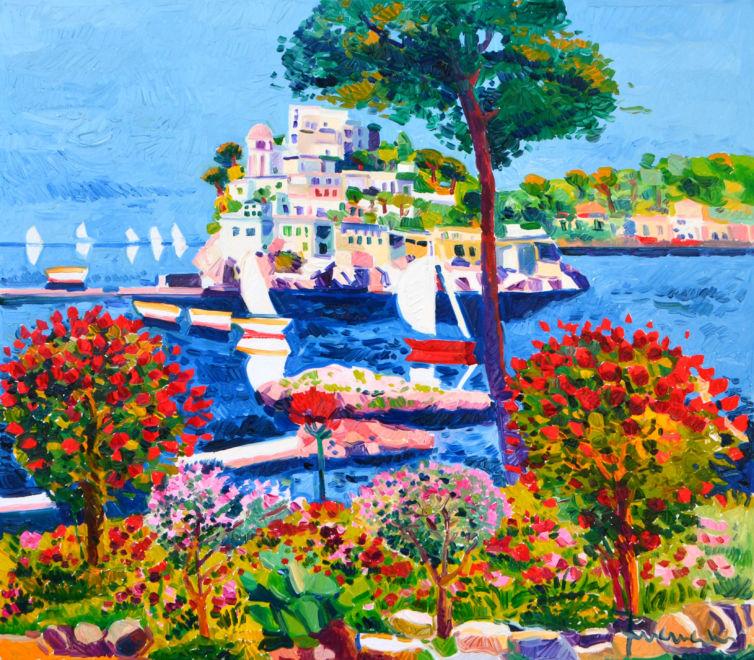 Rose e luce e amore verso l'isola dei sogni