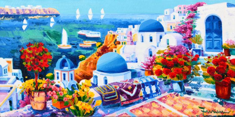 Ti vorrei raccontare di un sogno a Santorini