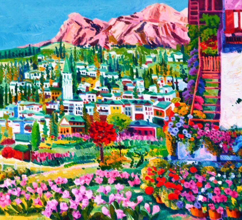 Da un tappeto di fiori la mia Cortina e le Tofane