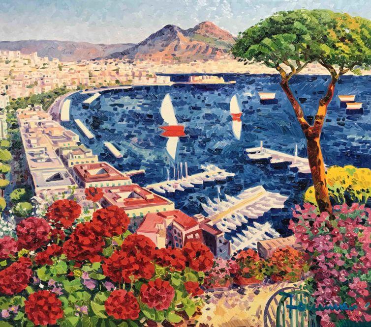 I mille colori di Napoli e la sua luce