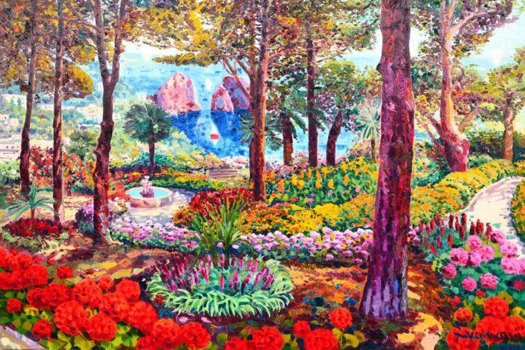 Tanta luce e tantissimi fiori sul Giardino Augusto
