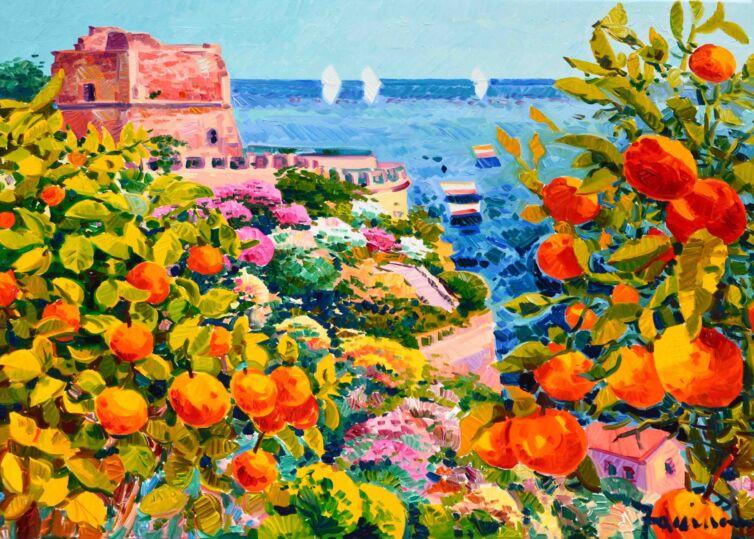 La Sicilia, la luce e il profumo delle arance