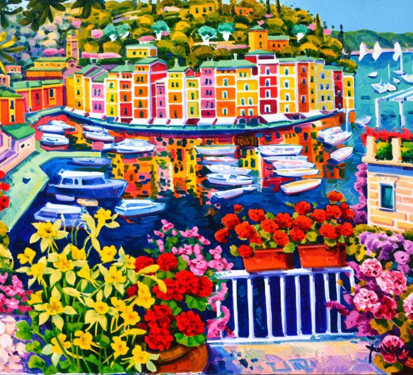 Luce, colori e mille riflessi nel mare di Portofino
